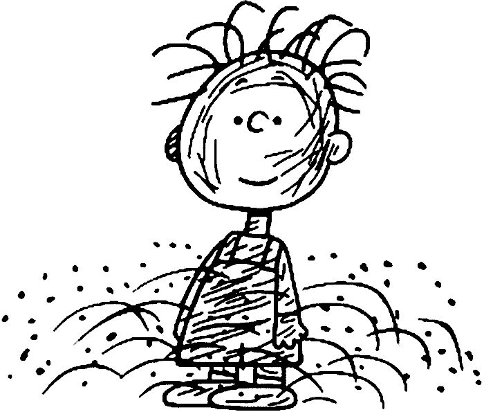 It s never wasted love refined for Charlie brown characters coloring pages